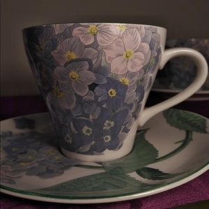 Teacups and Saucers (4)